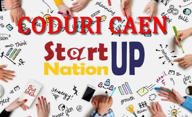 Lista Codurilor CAEN Eligibile Pentru Programul Start-up Nation Romania