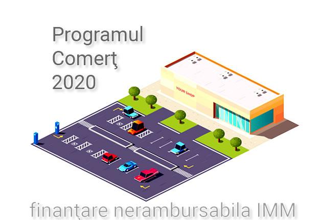 Programul Comert 2020 – Finantare Nerambursabila 01