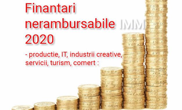 Finantare 2020 IMM : Surse De Bani Nerambursabili Pentru Firme Românești