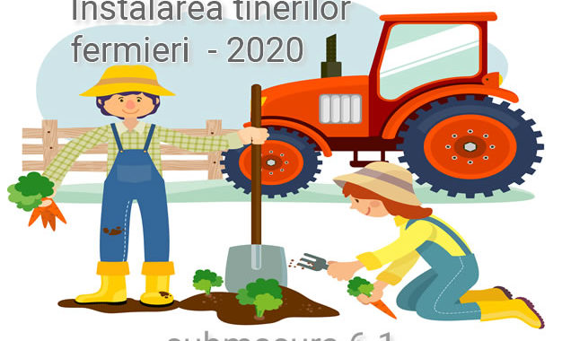 Instalarea Tanarului Fermier 2020