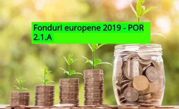 Fonduri Europene 2019 – 200.000 Euro Pentru Microîntreprinderi.  Când Se Fac înscrierile în POR 2.1.A ?