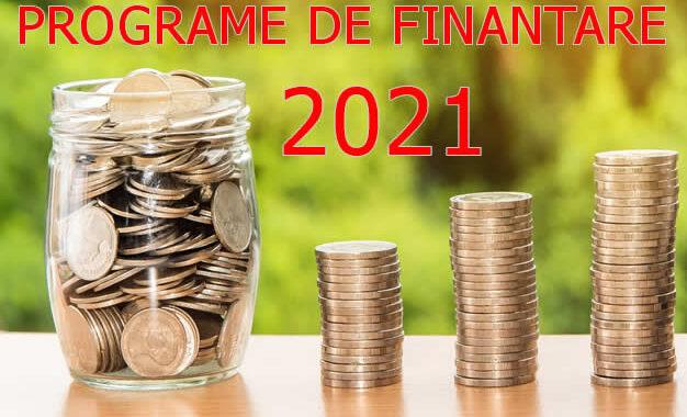 Programe Finantare IMM  2021 (inceputul Anului)