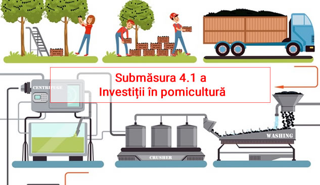 Submăsura 4.1 A – Investitii In Pomicultura Fonduri Europene Bistrita