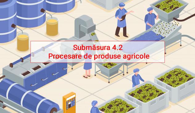 Submăsura 4.2 - Procesare de produse agricole