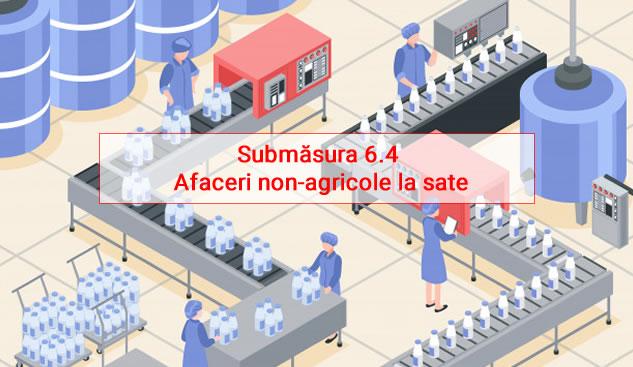 Submăsura 6.4 Afaceri non-agricole la sate